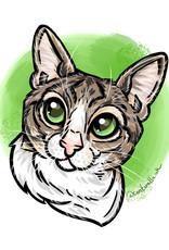 Commission Pet Portrait by Ali Cantarella