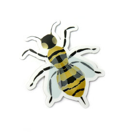 Designed by KateT Bumblebee Sticker by Designed by KateT