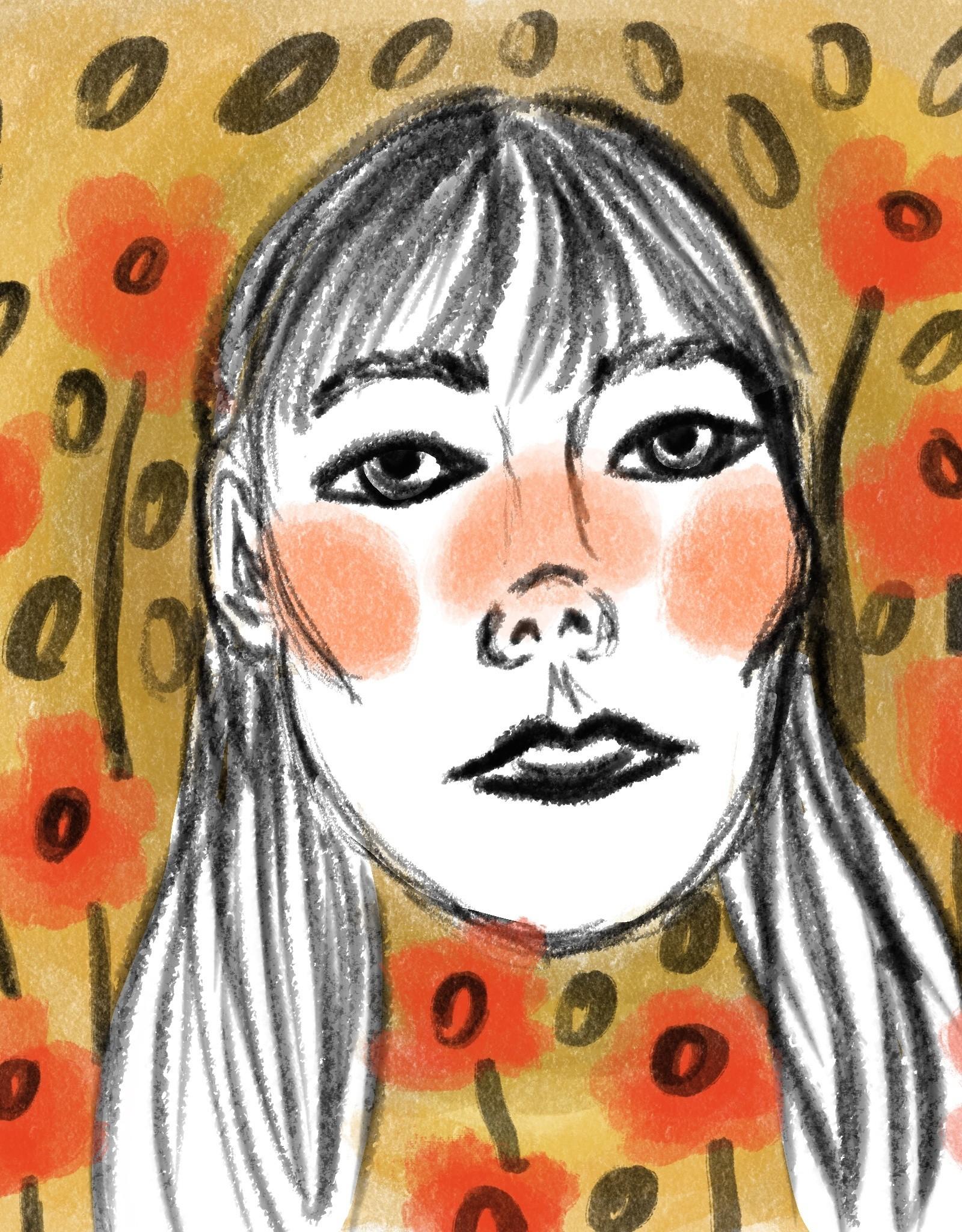 Commission Portrait by Lizzie Monsreal