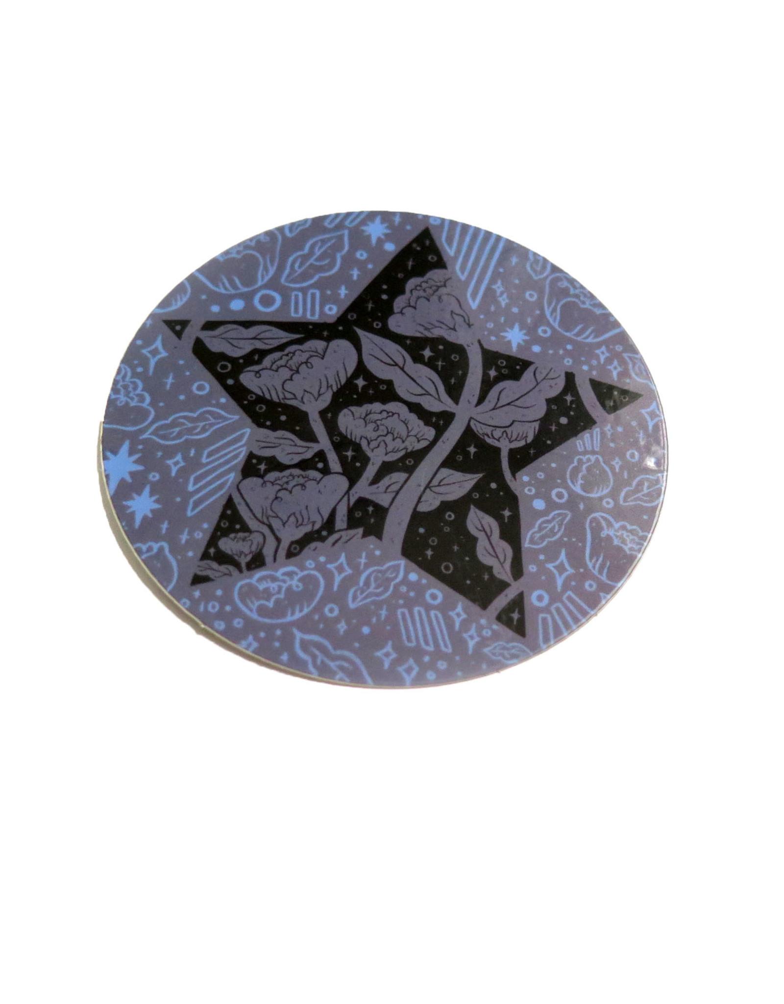 Manifest 2021 Waterproof Circle Sticker