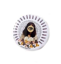 """Buy Columbia, By Columbia """"Bright Vibe"""" Magnet by Lizzie Monsreal"""