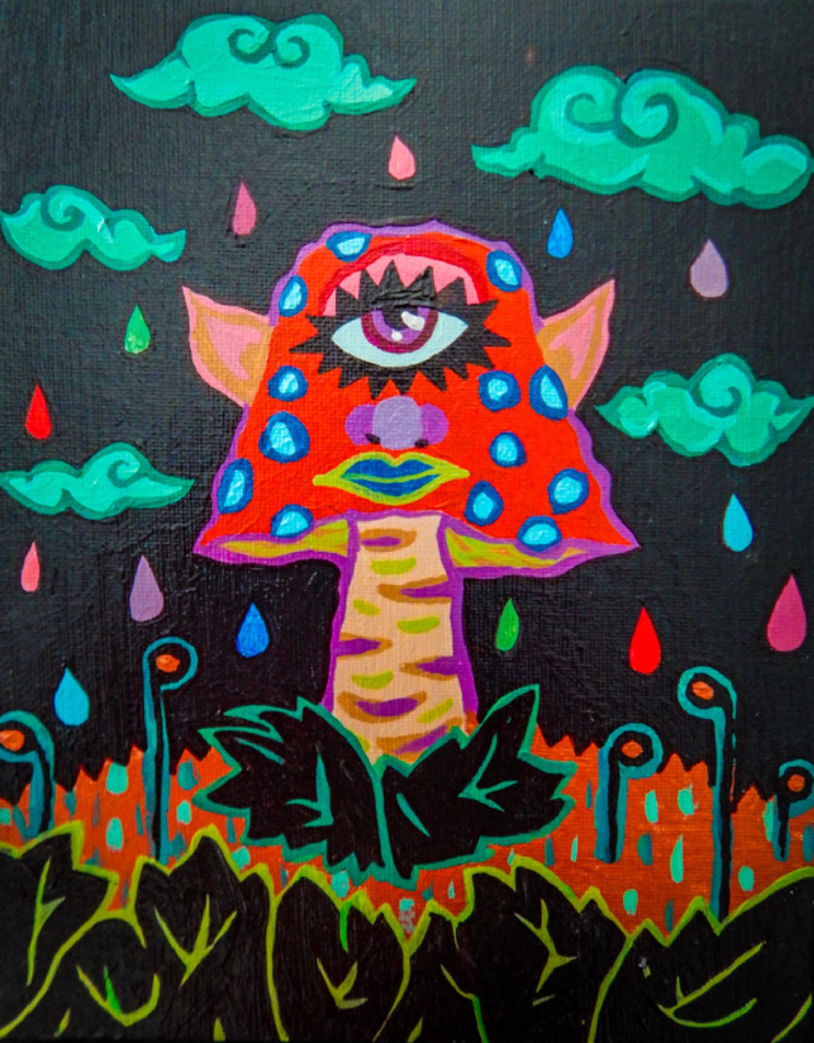 """Oliver Grenke """"Mushroom Mirage"""" postcard print by Oliver Grenke"""