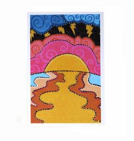 """""""Liminal No. 1"""" postcard print by Oliver Grenke"""