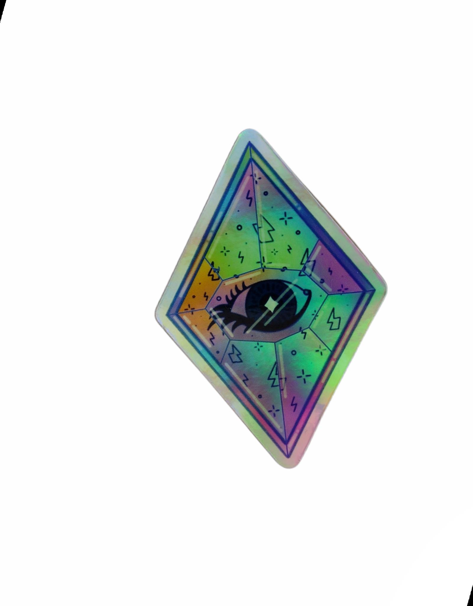 Eye Gem Sticker by Christina Bromley