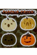 Pumpkin Patch Sticker Sheet by Christina Bromley