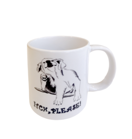 """""""Itch Please"""" mug by Scott Dickens, All4Pun"""