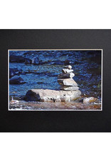 """Daria Percy Matted """"Rocks"""" 5x7 photograph by Daria Percy"""