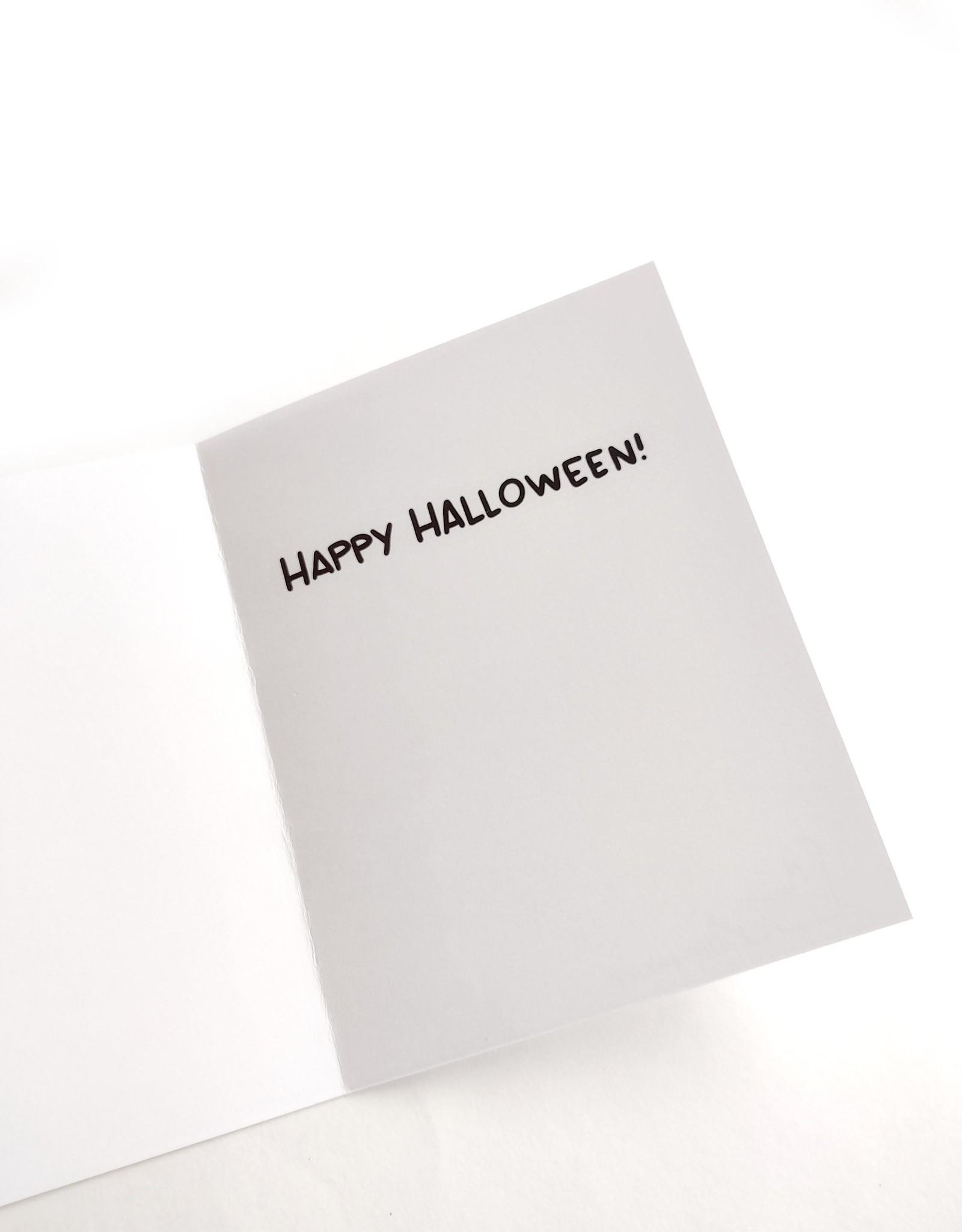 """Half-Off Jeans"" Greeting Card by Liam Kipp"