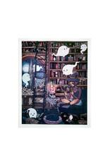 """The Witching Hour"" digital print by Aurelia Dominguez"