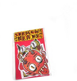 """""""Demon Heads"""" sticker pack by Lucas Miles"""