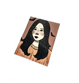 """Spooky"" print by Jada Russell"