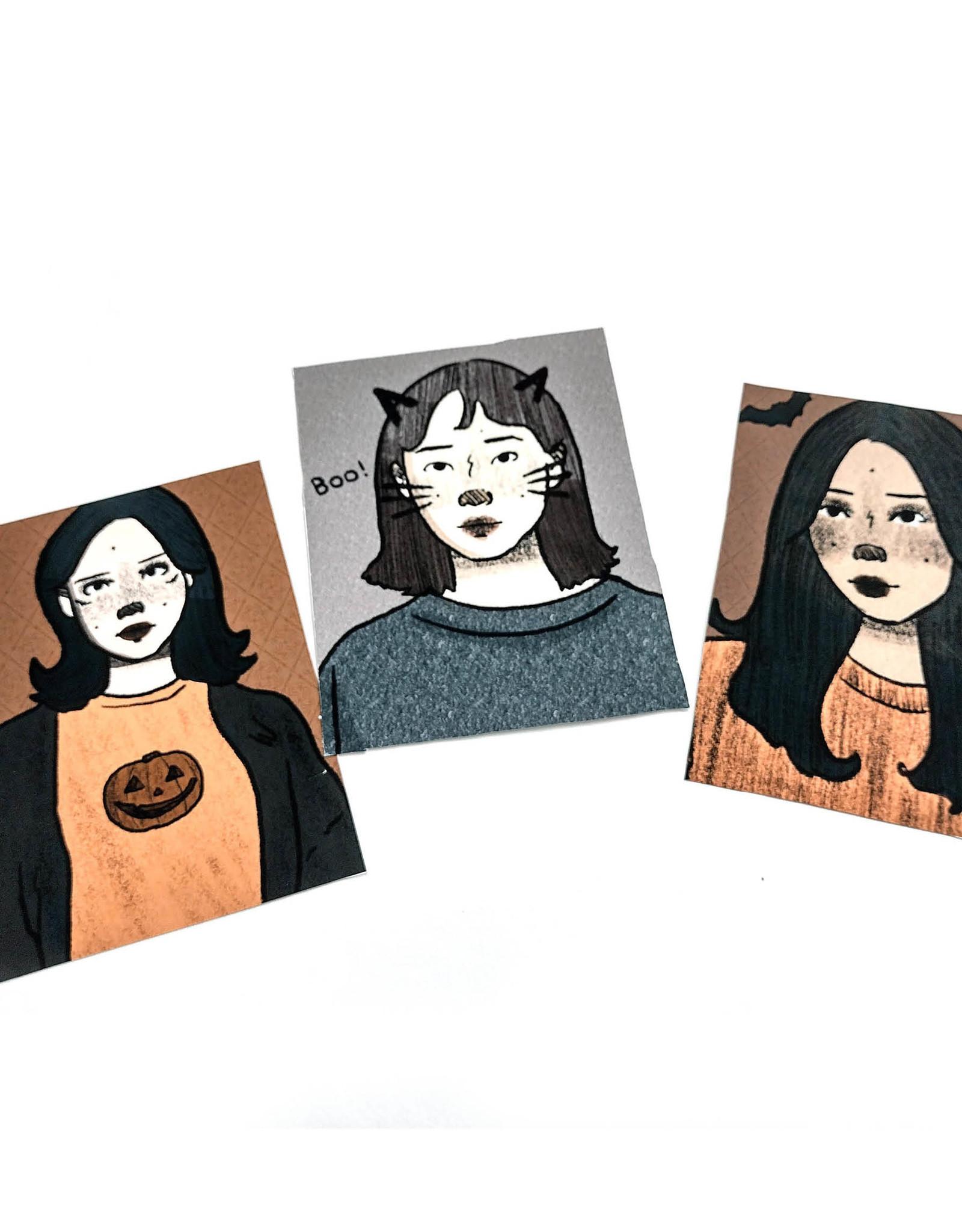 """Halloween 1"" print by Jada Russell"