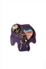 """""""Gay Horror!"""" Cupid Sticker (Trans) by The Miasma"""