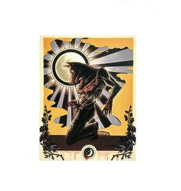 """Werewolf Pinup"" print by The Miasma"
