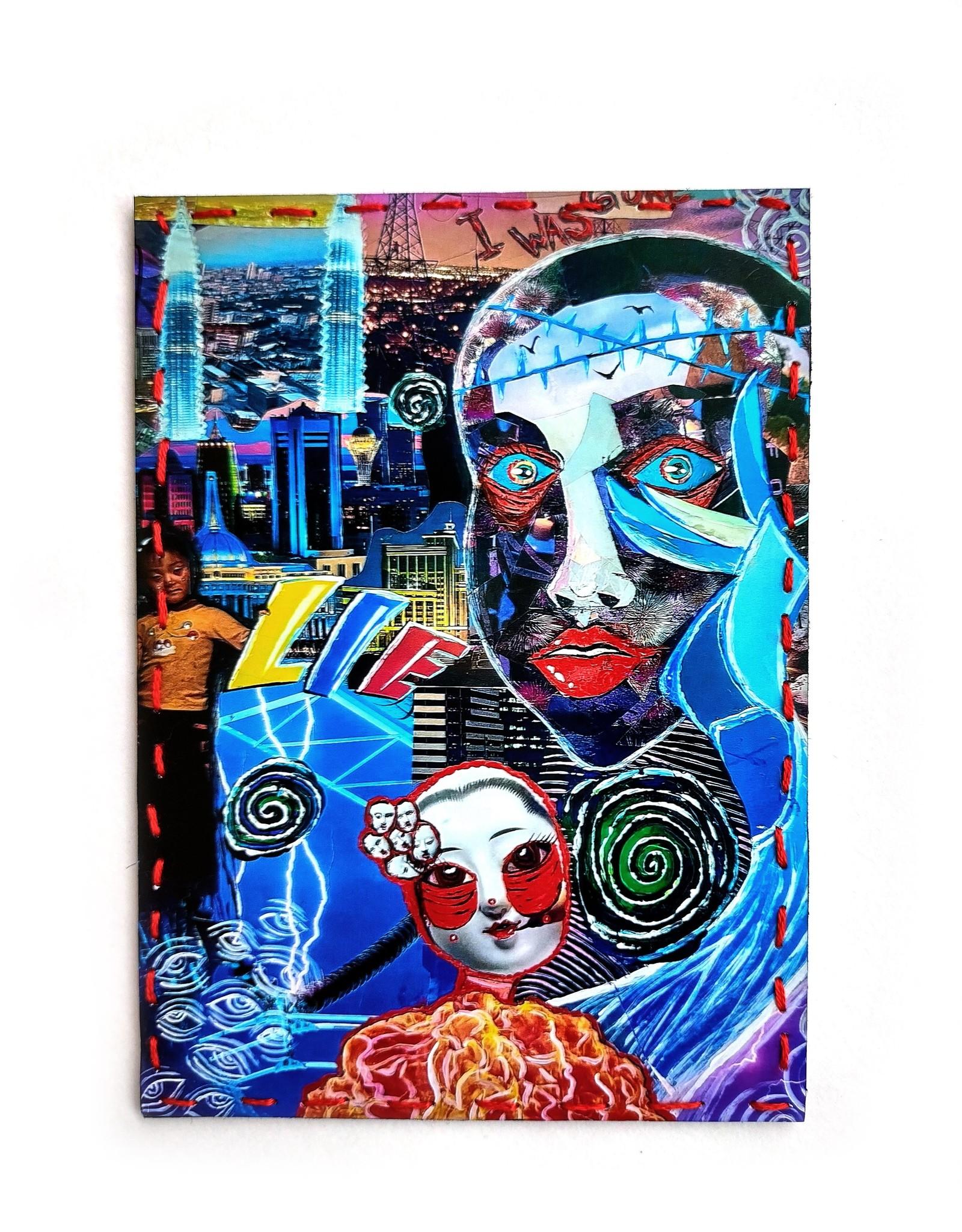"""On the Edge"" art print by Lilianna Popi"