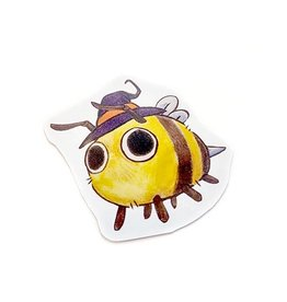 """""""Henry the Witch Bee"""" sticker by Archer Seaborn"""