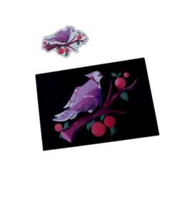 """Blue Jay"" print + sticker by OrioleGardens"