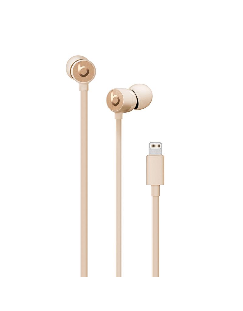 APPLE Écouteurs urBeats3 avec connecteur Lightning - Or satiné