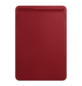 APPLE Leather Sleeve for 10.5‑inch iPadPro - (PRODUCT)RED