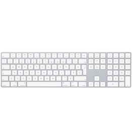 APPLE Magic Keyboard with Numeric Keypad - French Canadian (QWERTY) - Silver