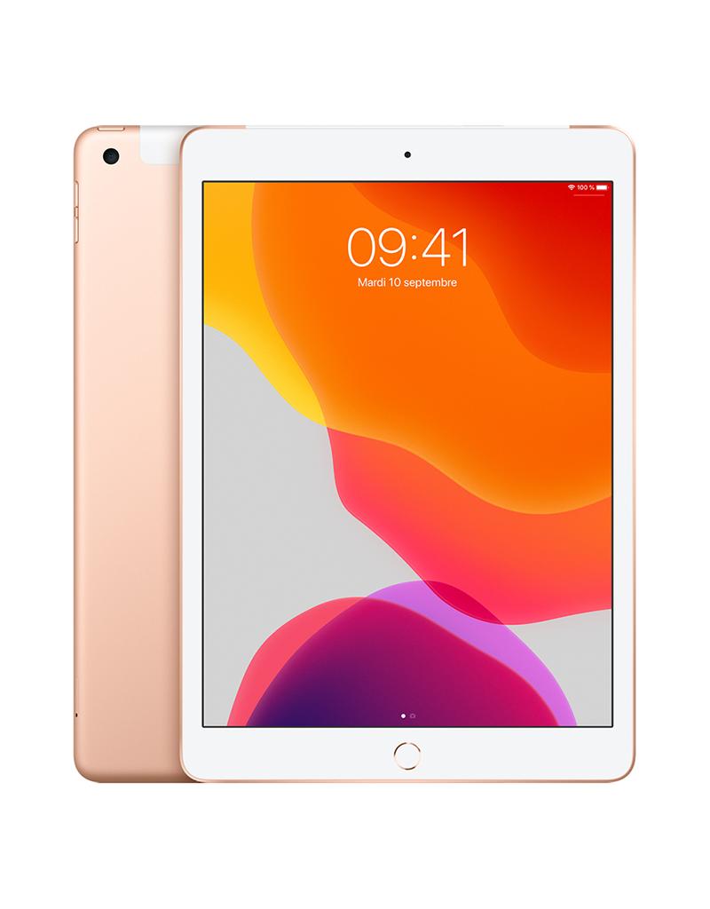 APPLE iPad 10,2 po Wi-Fi + Cellulaire 32 Go - Or