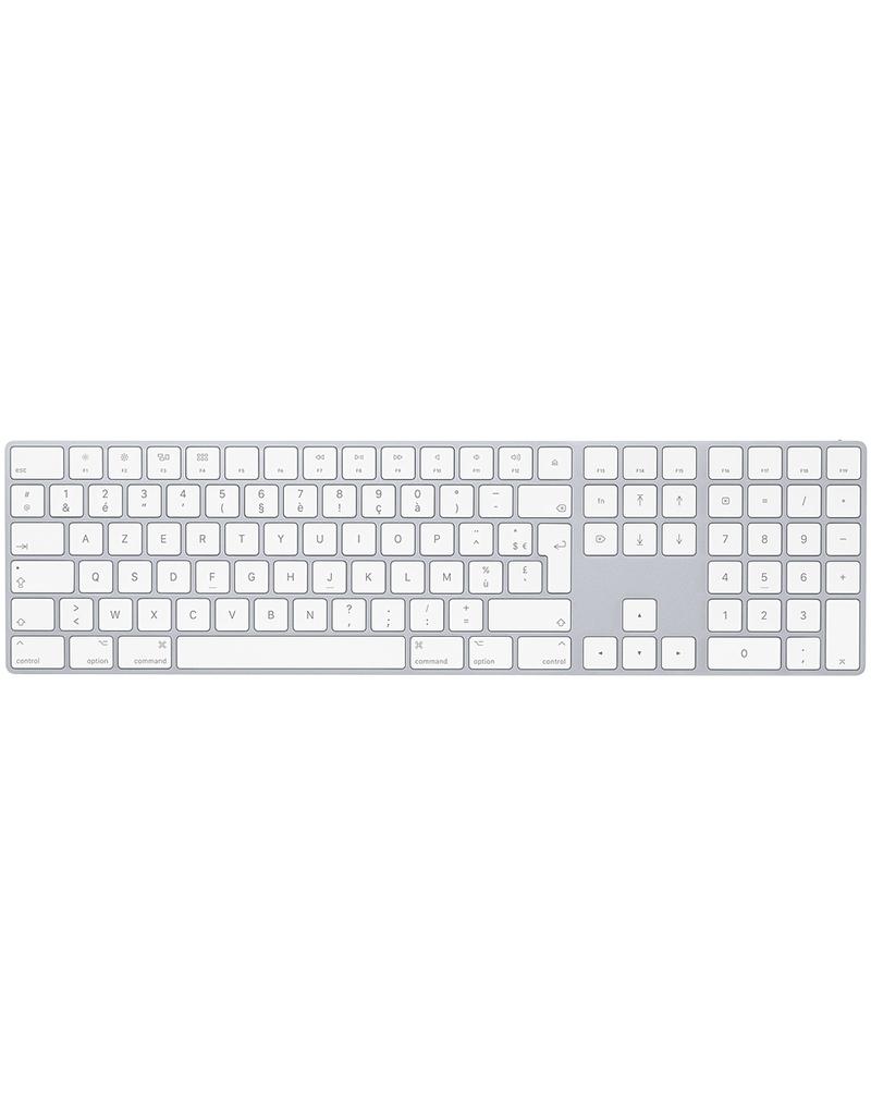 APPLE Magic Keyboard avec pavé numérique - Français (AZERTY) - Argent