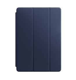 APPLE Leather Smart Cover for iPad (7th generation) and iPad Air (3rd generation) - Midnight Blue