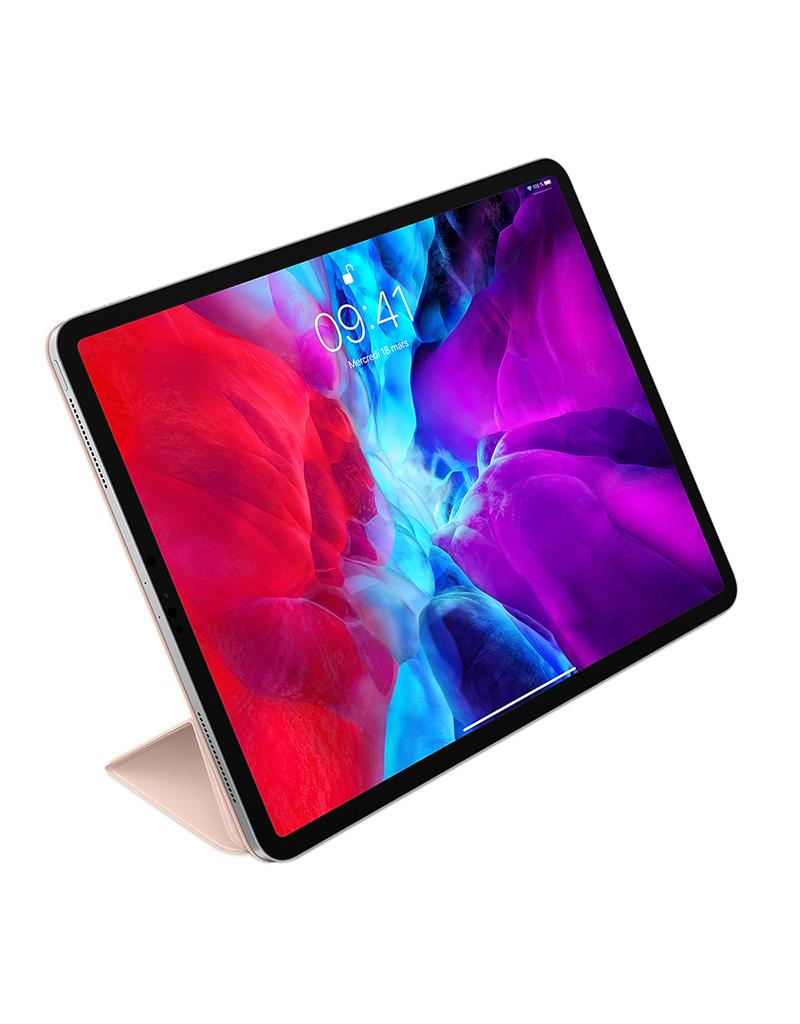 APPLE Smart Folio pour iPad Pro 12,9 po (4e génération) - Sable rose