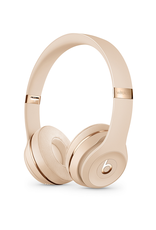 APPLE Casque sans fil Solo3 Wireless de Beats - Or satiné