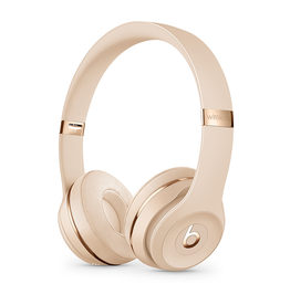 APPLE Beats Solo3 Wireless Headphones - Satin Gold