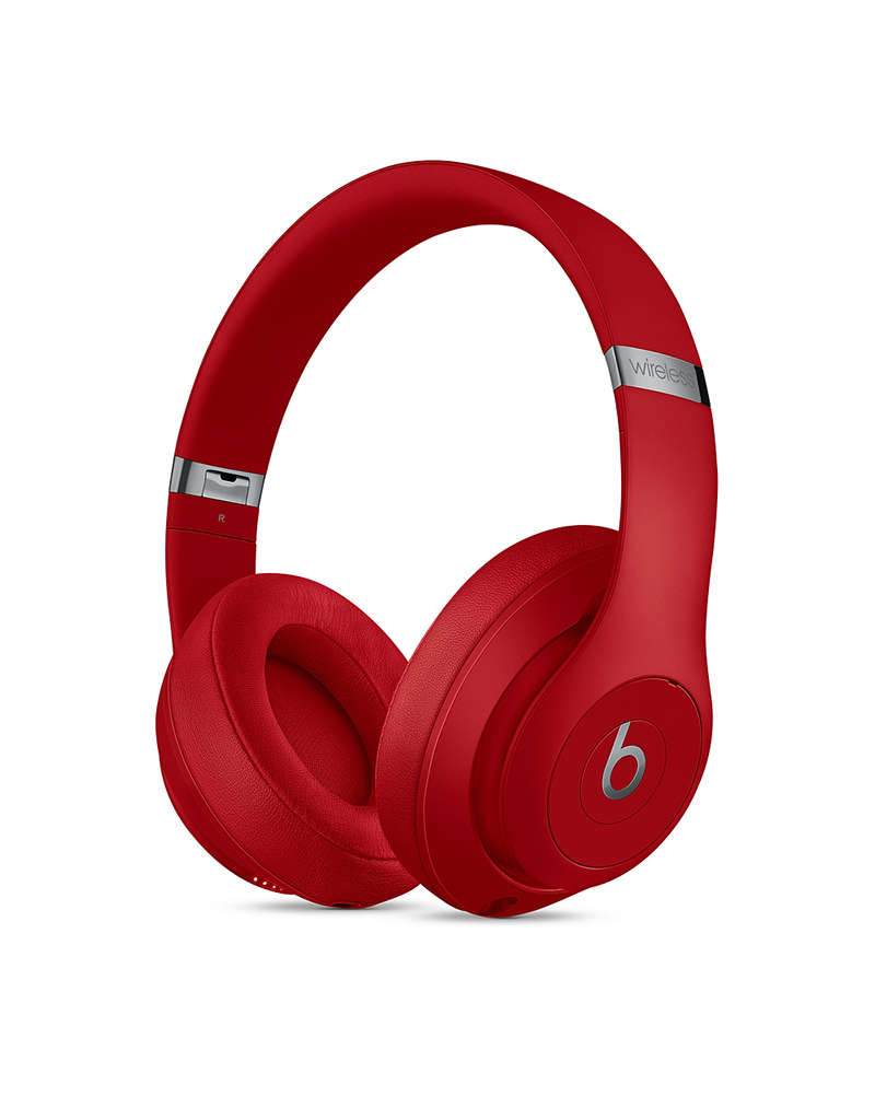 APPLE Casque circum-auriculaire sans fil Studio3 Wireless de Beats - Rouge