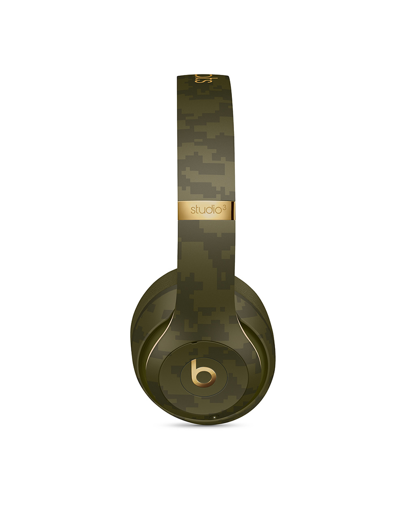 APPLE Casque sans fil Studio3 Wireless de Beats - Collection Camouflage de Beats - Vert forêt