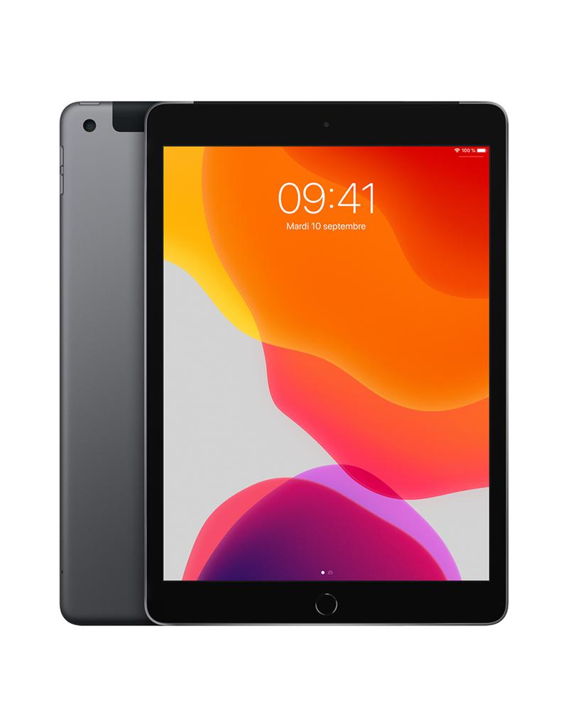 APPLE iPad 10,2 po Wi-Fi + Cellulaire 128 Go - Gris cosmique