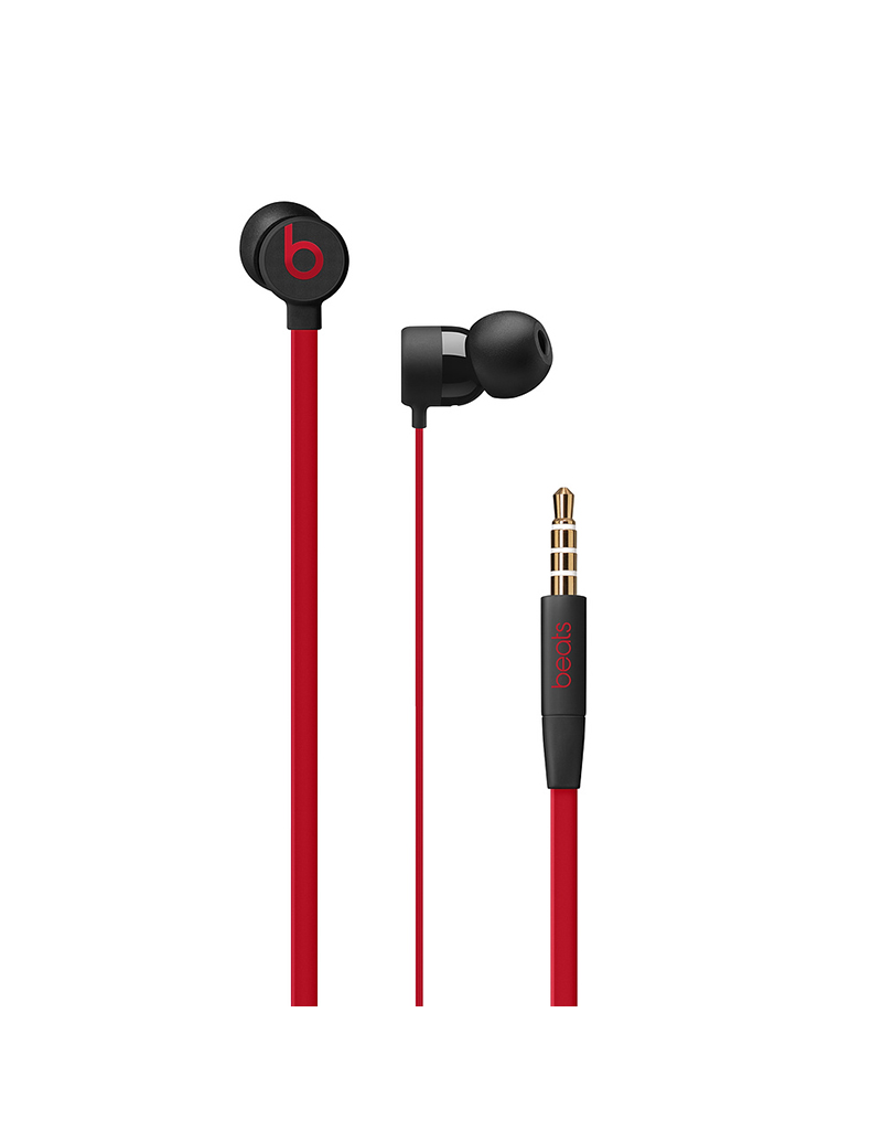 APPLE Écouteurs urBeats3 avec prise 3,5 mm - Collection Décennie de Beats - Rouge-noir triomphant