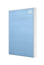 Seagate Seagate – Disque dur portable Backup Plus Slim, 1 To -  bleu pâle