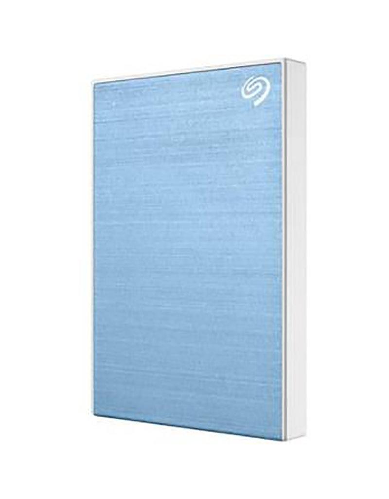 Seagate Disque Dur - Backup Plus Slim - 1 To -  Bleu Pâle
