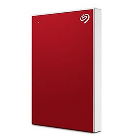 Seagate Seagate – Disque dur portable Backup Plus Slim 1 To - rouge