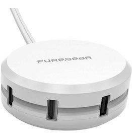 PureGear Station de Charge USB - Blanc