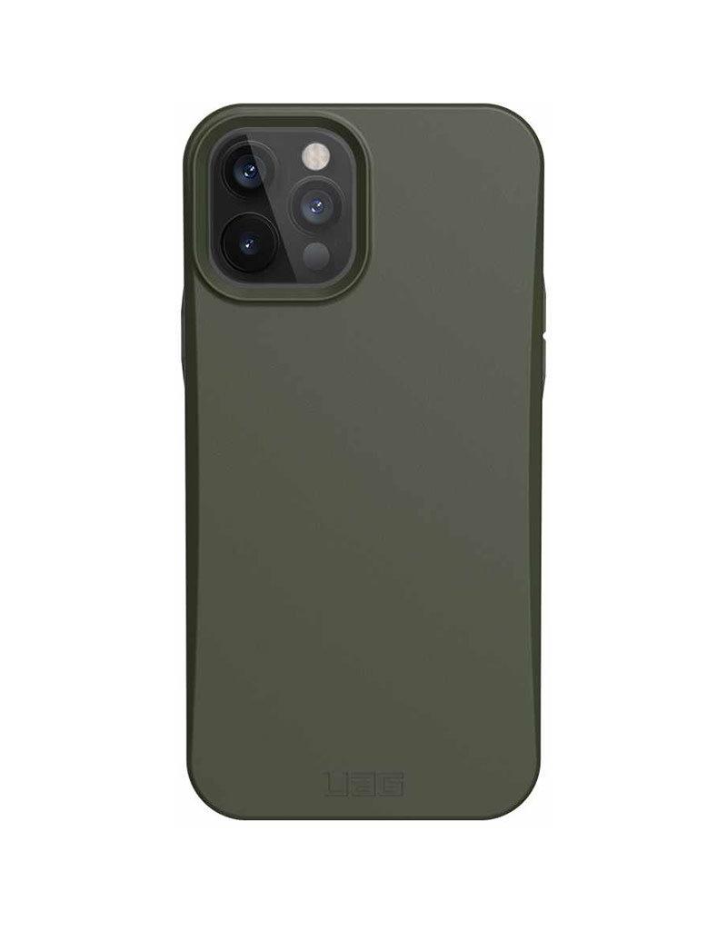UAG Étui de protection biodégradable pour iPhone 12 Pro Max - Olive