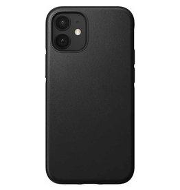 Nomad Étui de protection robuste en cuir pour iPhone 12 mini - Noir