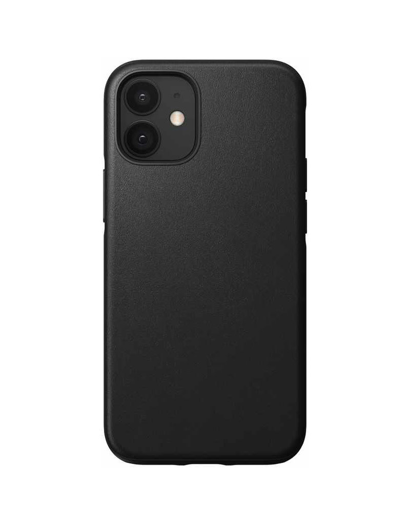 Nomad Protective Case Rugged Leather for iPhone 12 mini - Black