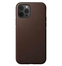 Nomad Étui de protection robuste en cuir pour iPhone 12/12 Pro - Brun