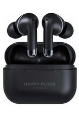 Happy Plugs Écouteurs 100 % sans fil à suppression du bruit Air 1 ANC - Noir