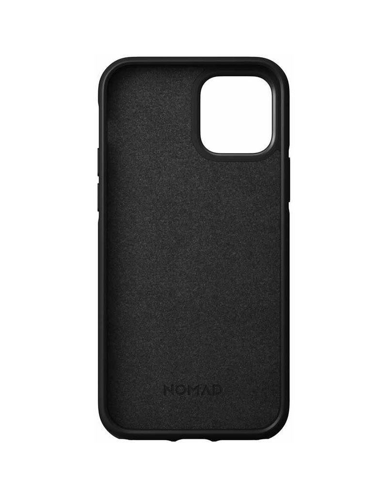 Nomad Étui de protection robuste en cuir pour iPhone 12/12 Pro - Brun