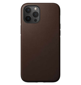 Nomad Étui de protection robuste en cuir pour iPhone 12 Pro Max - Brun rustique