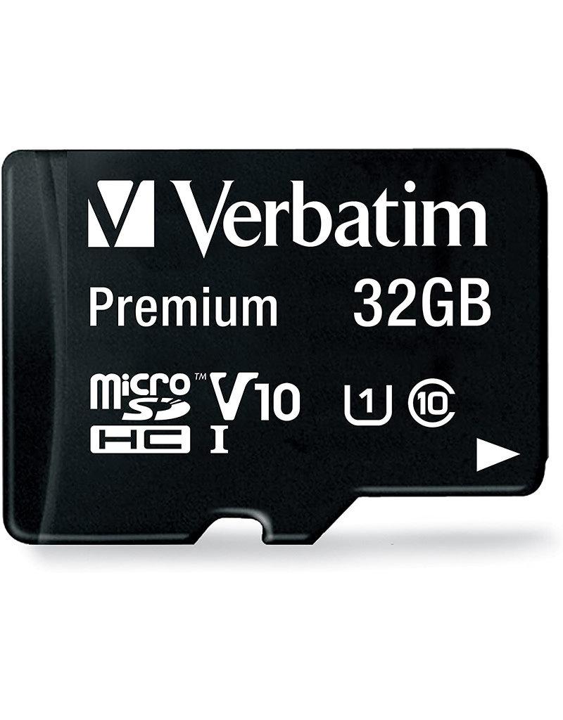 Verbatim Memory Card microSDXC Class 10 with Adapter - 32 Gb