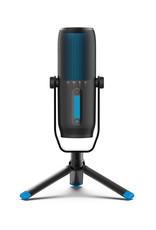 Jlab Audio Talk Pro Microphone USB | Sortie USB-C | Cardioïde, omnidirectionnelle, stéréo, bidirectionnel | Taux d'échantillonnage 192 K | Réponse en fréquence 20 Hz-20 kHz | Volume, contrôle du gain, silencieux rapide | Plug & Play