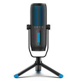 Jlab Audio Talk Pro USB Microphone | USB-C Output | Cardioid, omnidirectional, stereo, bidirectional | Sampling rate 192 K | Frequency response 20 Hz-20 kHz | Volume, gain control, rapid silent | Plug & Play