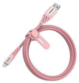 OtterBox Câble de charge/sync Lightning Premium 4 pieds (1.2m) - Rose Argent