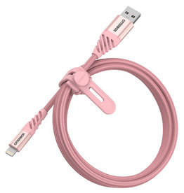 OtterBox Cable Lightning Premium Charge/Sync 4 Feet (1.2m) - Silver Pink